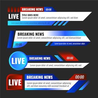 Banners ontwerpen het laatste nieuws