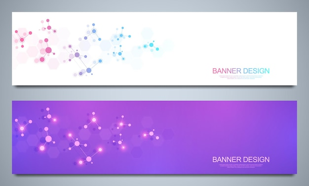 Banners sjabloon