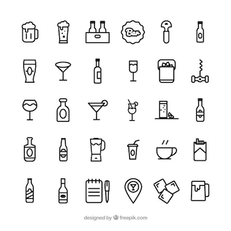 Bar pictogrammen