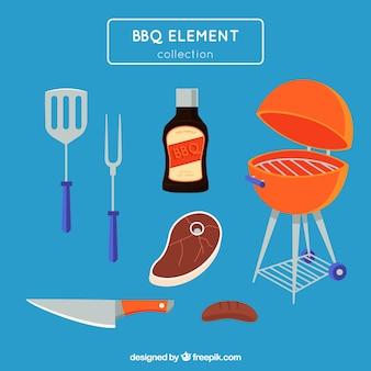 Barbecue elementen