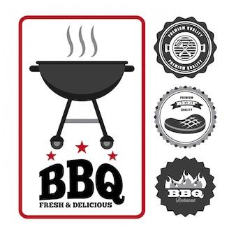 Barbecue eten