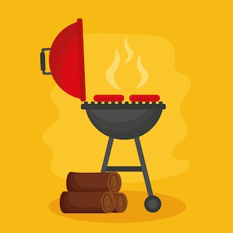 Barbecue ontwerp
