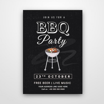 Barbecue-poster