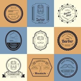 Barber Shop logo's