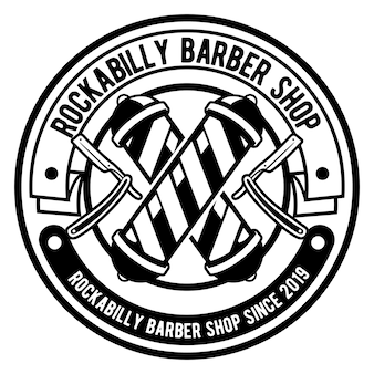 Barber shop-logo