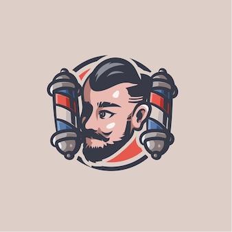 Barbershop clip art afbeelding