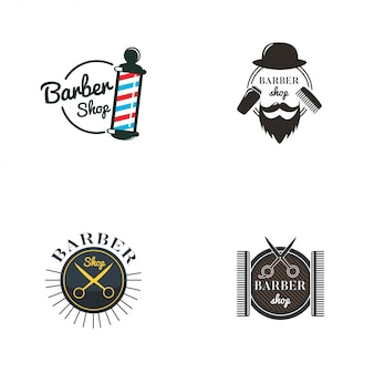 Barbershop logo collectie
