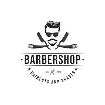 Barbershop logo ontwerp