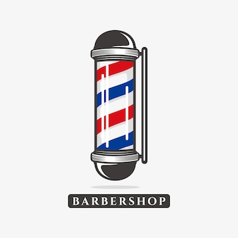 Barbershop logo sjabloon