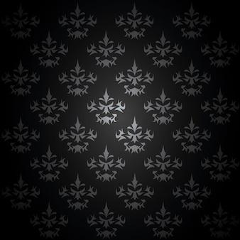 Barok achtergrond vector