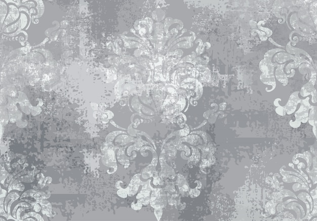 Barok ornament. luxe aquarel trendy textuur