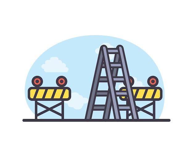 Barrières en ladder