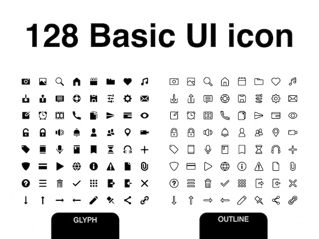 Basic ui-pictogram
