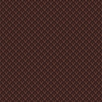 Basis naadloos gebreid patroon