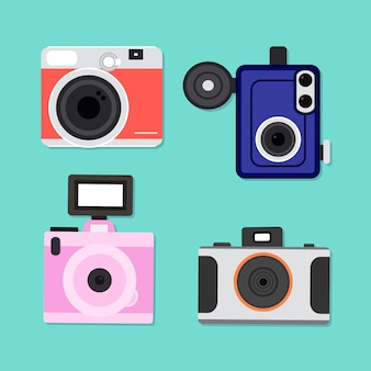 Basis ontwerp camera collectie
