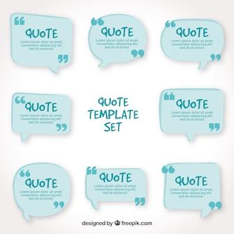 Basis verzameling van citaten