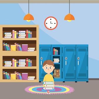 Basisschool cartoon