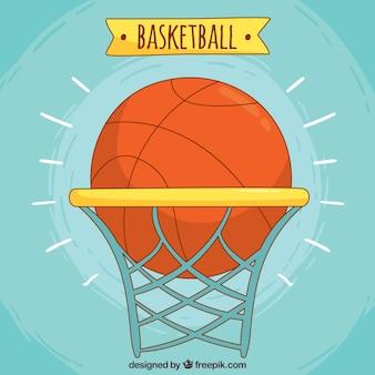 Basketbal achtergrond