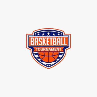 Basketbal club badge