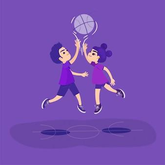 Basketbal-gelijkheid