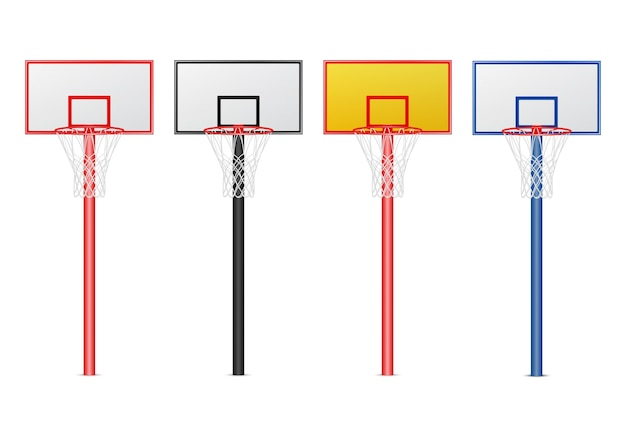 Basketbal hoepels set.