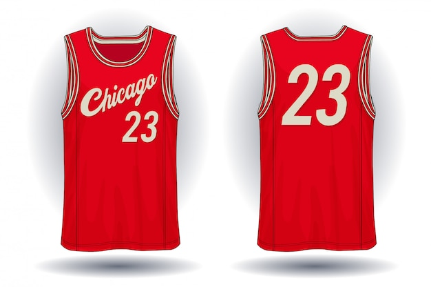 Basketbal jersey, de illustratie van de tanktopsport.