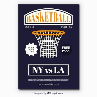 Basketbal mand flyer