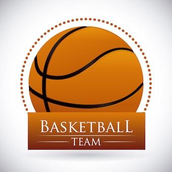 Basketbal ontwerp