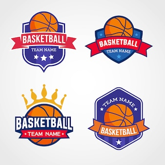 Basketbal team logo's