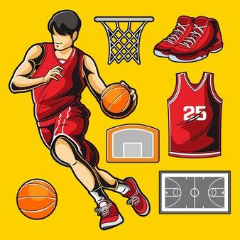 Basketbal vector pack