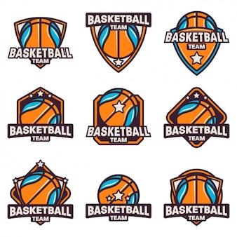 Basketball logo collectie