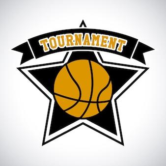 Basketbaltoernooi label