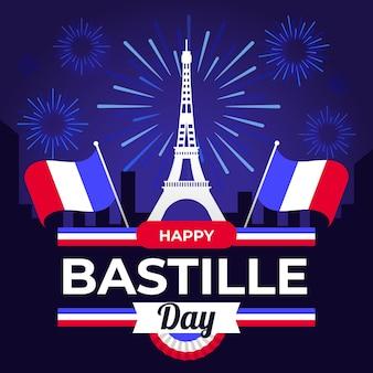 Bastille dag concept