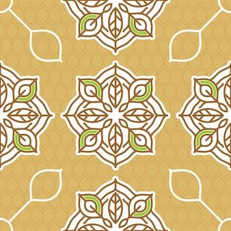 Batik patroon achtergrond