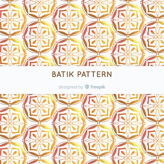 Batik patroon sjabloon