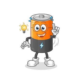 Batterij heeft een idee.
