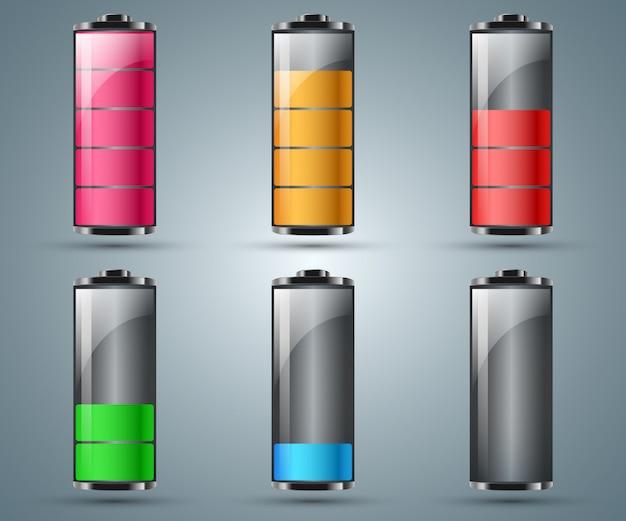 Batterij infographic