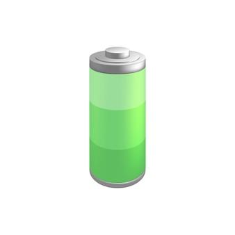 Batterij pictogram illustratie