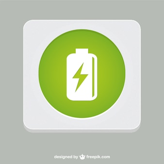Batterij vectorsymbool
