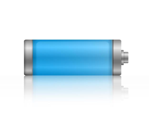 Batterij volledig opgeladen energieniveau