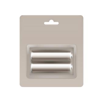 Batterijen in blisterverpakking