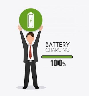 Batterijontwerp.