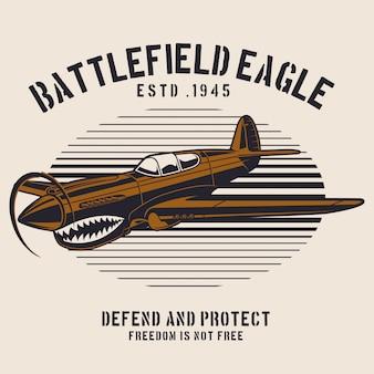 Battlefield eagle-vliegtuig