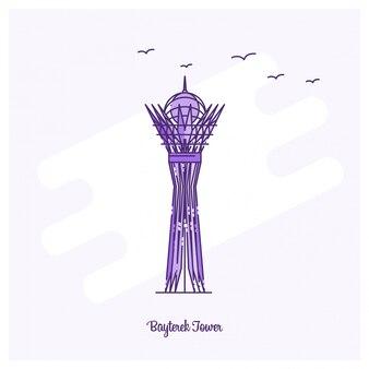 Bayterek-toren-oriëntatiepunt