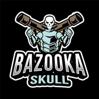 Bazooka skull esport-logo