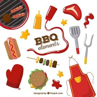 Bbq elementen set