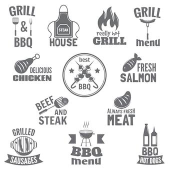 Bbq grill-etiket