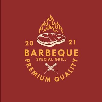 Bbq logo ontwerp