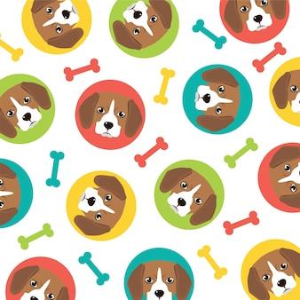 Beagle patroon