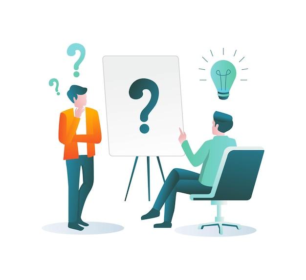 Beantwoord alle vragen van klanten